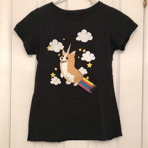 Corgi unicorn / corgicorn t-shirt